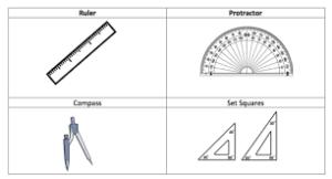 Инструменты для геометрический построений