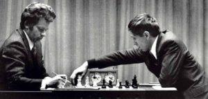 Турнира века между Фишером и Спасским (американцем и русским ) в период холодной войны 1972 года