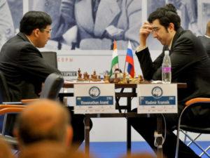 Индийский гроссмейстер Ананд борется за мировую корону